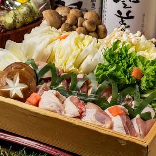 焼き鶏と水炊き ふく将 新宿 料理